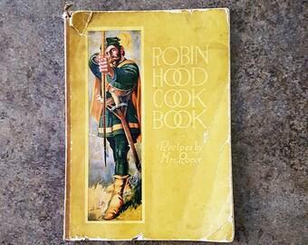 Antique 1915 Robin Hood Flour Cook Book, First Edition