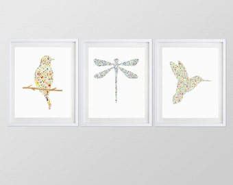 """Any 3 5x7"""" Watercolor Art Prints from my Shop"""