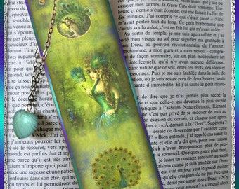 "Laminated bookmarks ""Master Peacock"", cheap gift idea"