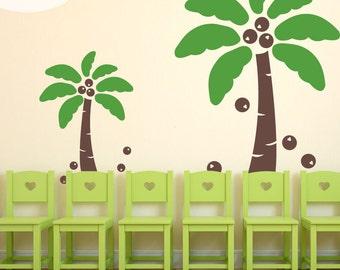 Coconut Crazy - Vinyl Wall Decals