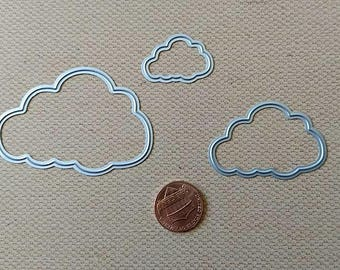 Scalloped Cloud Die Set 3pc