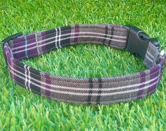 Tartan Dog Collar, Boy Dog Collar, Personalized Dog Collar, Plaid Dog Collar, Dog, Girl Dog Collar, Personalised Dog Collar, Dog Collar