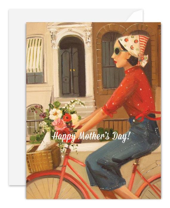 Brownstones. Happy Mother's Day Card. SKU JH1122