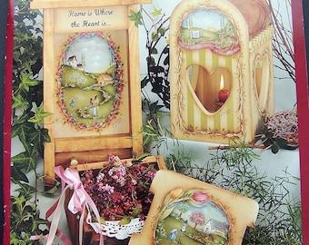 Between The Vines 5 by Jamie Mills Price Decorative Painting Book