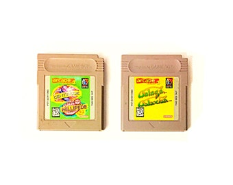Lot of 2 Vintage Nintendo Gameboy Games - 4 Full Classic Arcade Games!