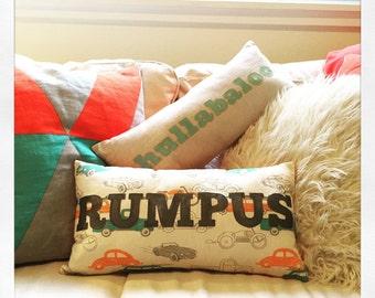 Rumpus Pillow