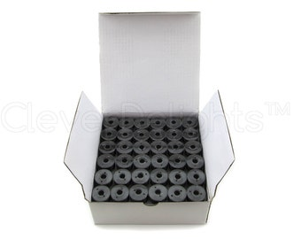 144 Size A Black Prewound Bobbins - SA156 Replacement Bobbins - Class 15 - For Brother Embroidery Machines - See Compatibility List