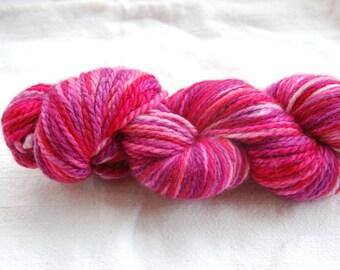 handdyed Yarn, 100g/ 3,5oz , colour Rosenblätter