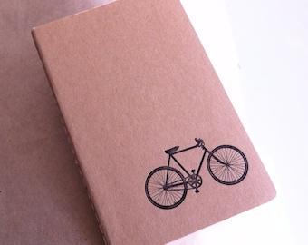 Bicycle   - Letterpress Moleskine Pocket Cahier