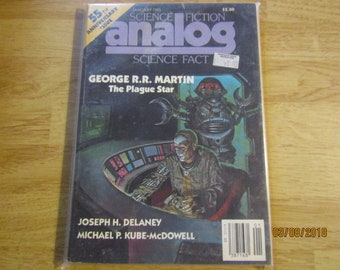 Science Fiction- Analog-Science Fact