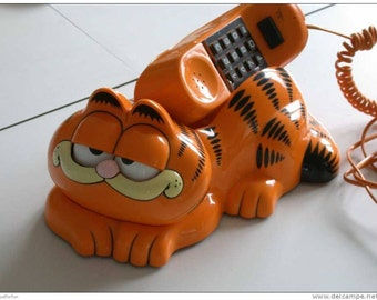 Vintage 1980's TYCO Garfield Phone Telephone- Phone