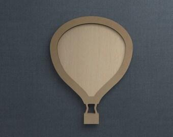 Frame Kit, Hot Air Balloon, Wood Frame, Picture Frame, DIY