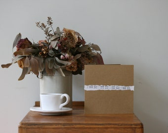 Original 'I Love You' Card Custom Art Vintage Typewriter Bespoke Gift Boyfriend Girlfriend Husband Wife Love Friendship  Boho Retro