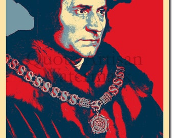 Thomas More Original Art Print - Photo Poster Gift