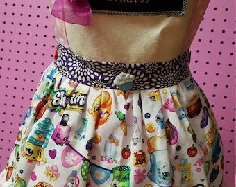 Shopkins Girls Apron size 4
