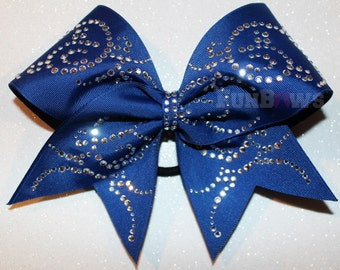 Lots of bling  -  Allstar Cheer Bow by FunBows !