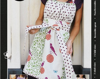 Pretty Ditty Apron e-pattern (pdf sewing pattern)