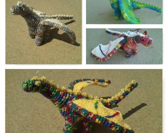 Plush Crochet Dragon (3 of 3)