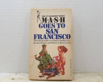 Mash Goes to San Francisco, 1976, Vintage book Tv Series