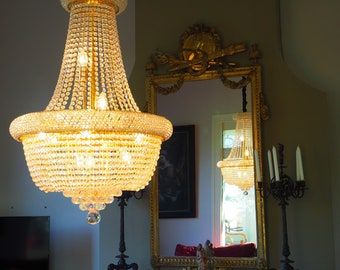 Classic Bag Chandelier with Swarovski Crystal-18 lights