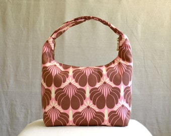 Insulated Lunch Bag, Women Lunch Bag, Work Lunch Bag, Small Purse, Baby Food Carrier, Amy Butler Nigella Collection