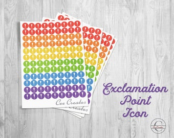 Exclamation Point Icons