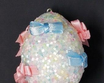 Pretty in Pastels Collectible Egg - Decorated Egg