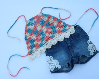Beachcomber Crochet Scallop Top