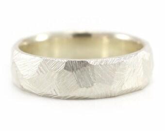 Rugged Ring, Mens Rugged Ring, Rugged Wedding Ring, Wedding band for him, rugged engagement ring, mens wedding ring
