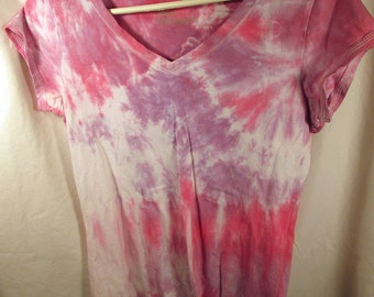 Purple n Pink Tie Dye Shirt