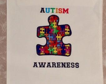 Autism Awareness Laminated Garden Flag
