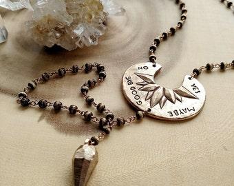 Divination Necklace   Bronze
