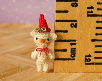 PDF PATTERN - Crochet Miniature Briciolino Bear - Amigurumi Tutorial