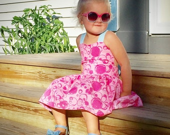 Bubblegum Wall Inspired Dress