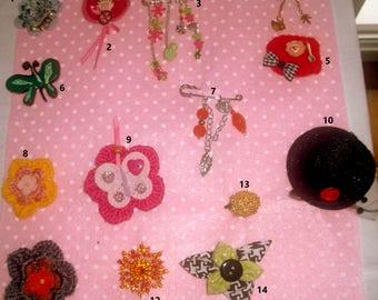 MINI price = set of 3 Bobby pins