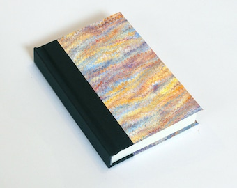"""Sketchbook 4x6"""" with motifs of marbled papers - 11"""