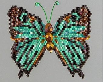 Black-veined Hairstreak Butterfly  Pattern and Tutorial