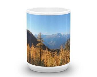 Larch Trees Ceramic Coffee Mug