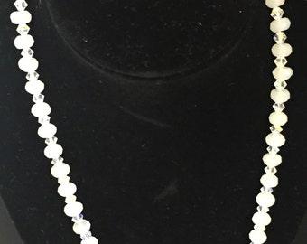 SALE!! Crystal Necklace, Bracelet & Earrings Set