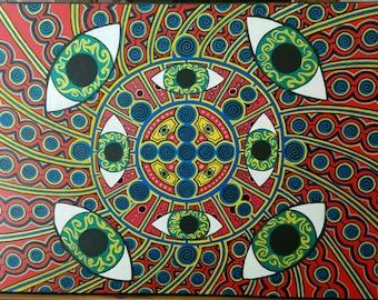 Spiral Witness (24x18 Print)