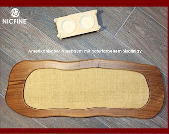 Scratch board/scratching furniture for cats free Style 1 in American walnut
