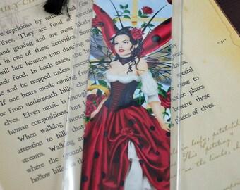 Bookmark Ladybug Fairy - The Gardener