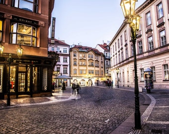 "Prague Photography, Prague Streets, ""The Cobbles"""