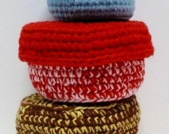 Small Holder Crochet Pattern Mini Basket Crochet Pattern PDF Instant Download Crochet Accessories Pattern Happy Keepers/Holders