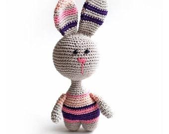 Bunny Plush, Bunny Stuffed Animal, Bunny Plushie, Bunny Stuffed Toy, Crochet Bunny, soft toy