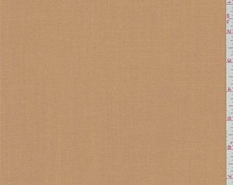 Terra Cotta Orange Gabardine, Fabric By The Yard
