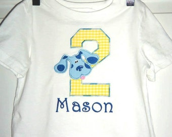 Blues Clues Personalized Birthday Shirt