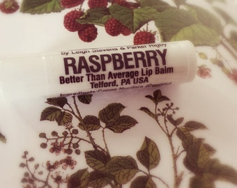 Raspberry - Better Than Average Lip Balm