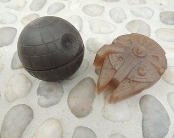 Star Wars Inspired Soap Collection No. 4 - The Millennium Falcon & That's No Moon