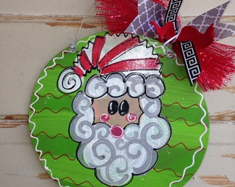 Christmas Ornament - Personalized Christmas Ornament - Santa Ornament - Christmas Decorations - christmas Decor - Christmas Gift